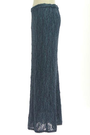 ITALIYA(伊太利屋)の古着「ラメニットロングスカート(ロングスカート・マキシスカート)」大画像3へ