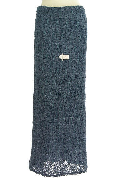 ITALIYA(伊太利屋)の古着「ラメニットロングスカート(ロングスカート・マキシスカート)」大画像4へ