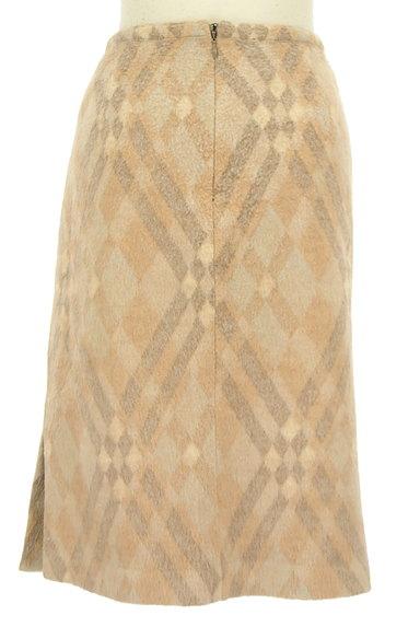 ITALIYA(伊太利屋)の古着「チェックウールニットスカート(スカート)」大画像2へ