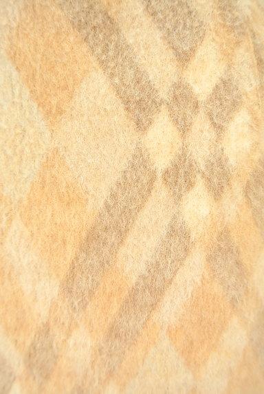 ITALIYA(伊太利屋)の古着「チェックウールニットスカート(スカート)」大画像4へ