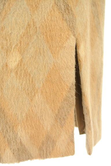 ITALIYA(伊太利屋)の古着「チェックウールニットスカート(スカート)」大画像5へ