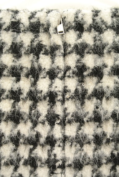 TOMORROWLAND(トゥモローランド)の古着「起毛千鳥柄7分袖ニット(ニット)」大画像4へ