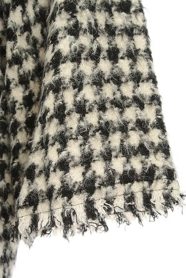 TOMORROWLAND(トゥモローランド)の古着「起毛千鳥柄7分袖ニット(ニット)」大画像5へ