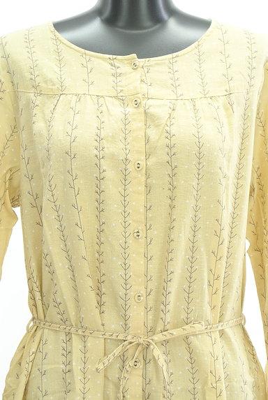 SM2(サマンサモスモス)の古着「木の枝ストライプシャツワンピース(ワンピース・チュニック)」大画像4へ
