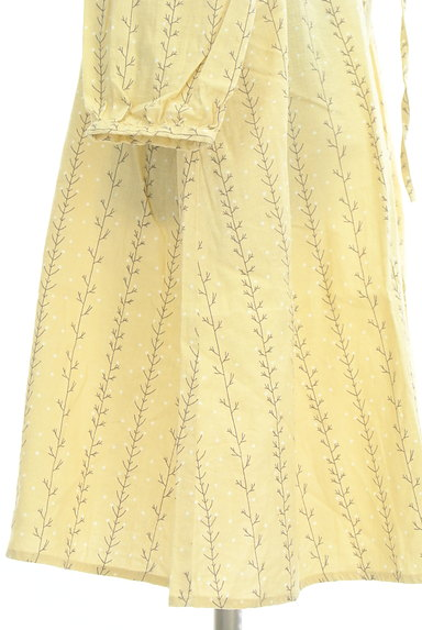 SM2(サマンサモスモス)の古着「木の枝ストライプシャツワンピース(ワンピース・チュニック)」大画像5へ