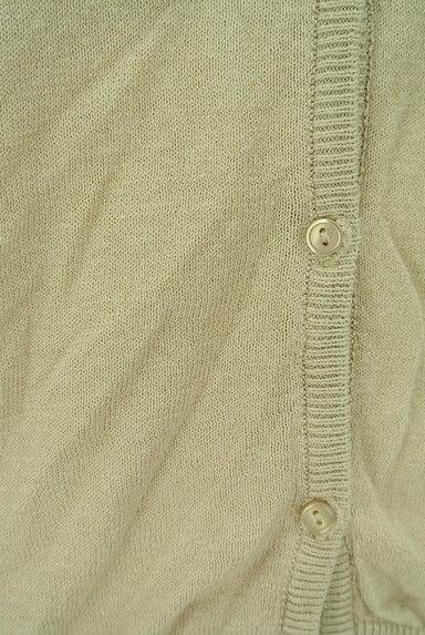 SM2(サマンサモスモス)の古着「小花刺繍ライトニットカーディガン(カーディガン・ボレロ)」大画像5へ