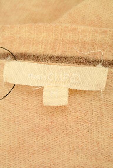 studio CLIP(スタディオクリップ)の古着「クルーネック杢ニットカーディガン(カーディガン・ボレロ)」大画像6へ