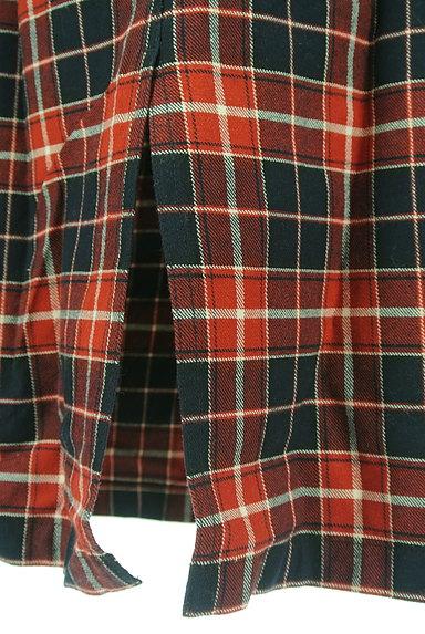 studio CLIP(スタディオクリップ)の古着「バックスリットチェックロングスカート(ロングスカート・マキシスカート)」大画像5へ