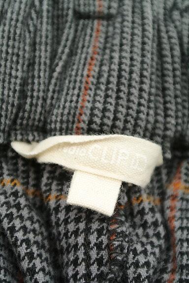 studio CLIP(スタディオクリップ)の古着「チェック柄イージーワイドパンツ(パンツ)」大画像6へ