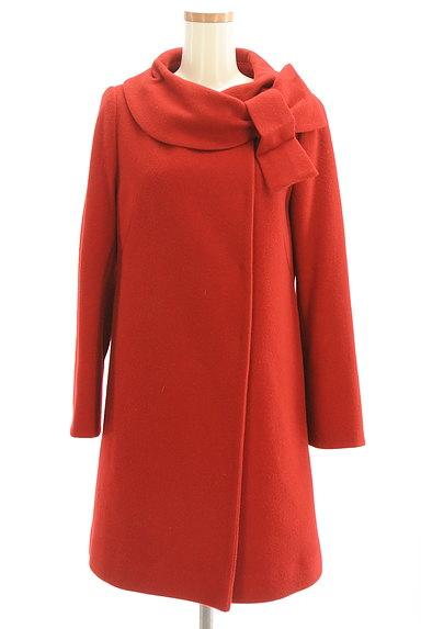 WILLSELECTION(ウィルセレクション)の古着「リボン襟ロングウールコート(コート)」大画像1へ