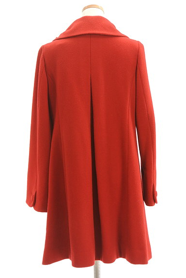 WILLSELECTION(ウィルセレクション)の古着「リボン襟ロングウールコート(コート)」大画像2へ