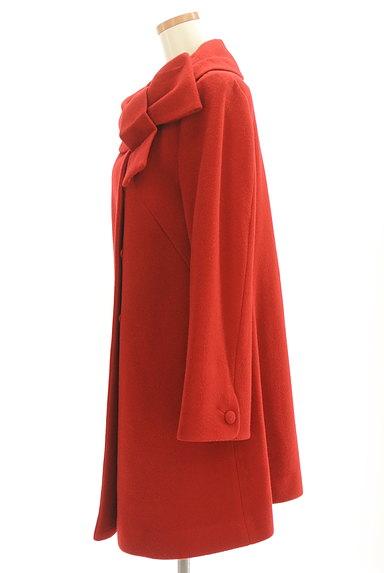 WILLSELECTION(ウィルセレクション)の古着「リボン襟ロングウールコート(コート)」大画像3へ