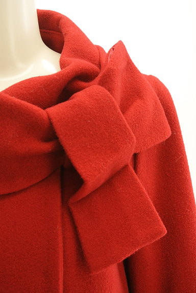 WILLSELECTION(ウィルセレクション)の古着「リボン襟ロングウールコート(コート)」大画像5へ