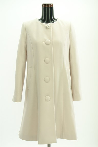 LAISSE PASSE(レッセパッセ)の古着「ファー付ロングウールコート(コート)」大画像4へ