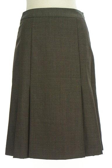 NEW YORKER(ニューヨーカー)の古着「タックセミタイトスカート(スカート)」大画像1へ