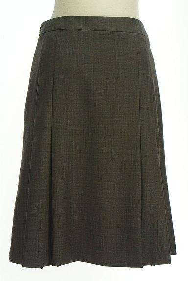 NEW YORKER(ニューヨーカー)の古着「タックセミタイトスカート(スカート)」大画像2へ