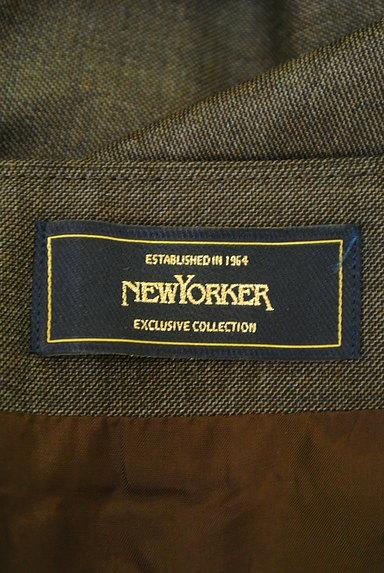 NEW YORKER(ニューヨーカー)の古着「タックセミタイトスカート(スカート)」大画像6へ