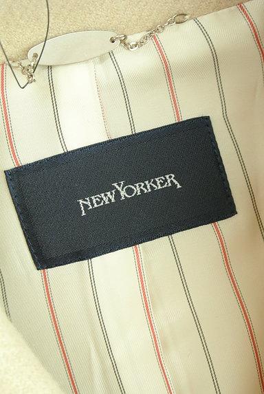NEW YORKER(ニューヨーカー)の古着「ショートステンカラーコート(コート)」大画像6へ