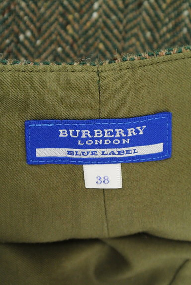BURBERRY BLUE LABEL(バーバリーブルーレーベル)の古着「ヘリンボーンウールキュロット(ショートパンツ・ハーフパンツ)」大画像6へ