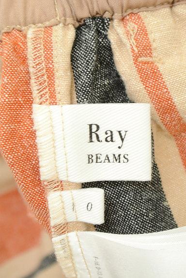 BEAMS Women's(ビームス ウーマン)の古着「カラーストライプワイドパンツ(パンツ)」大画像6へ