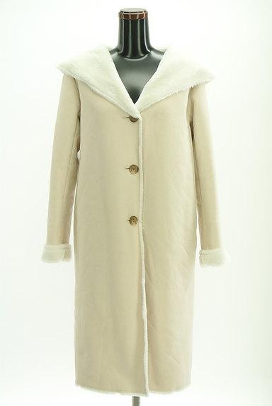 MERCURYDUO(マーキュリーデュオ)の古着「裏起毛フード付きロングコート(コート)」大画像1へ