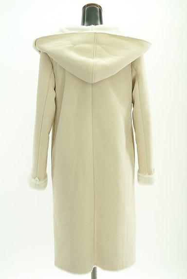 MERCURYDUO(マーキュリーデュオ)の古着「裏起毛フード付きロングコート(コート)」大画像2へ