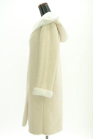 MERCURYDUO(マーキュリーデュオ)の古着「裏起毛フード付きロングコート(コート)」大画像3へ