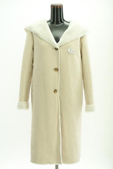 MERCURYDUO(マーキュリーデュオ)の古着「裏起毛フード付きロングコート(コート)」大画像4へ