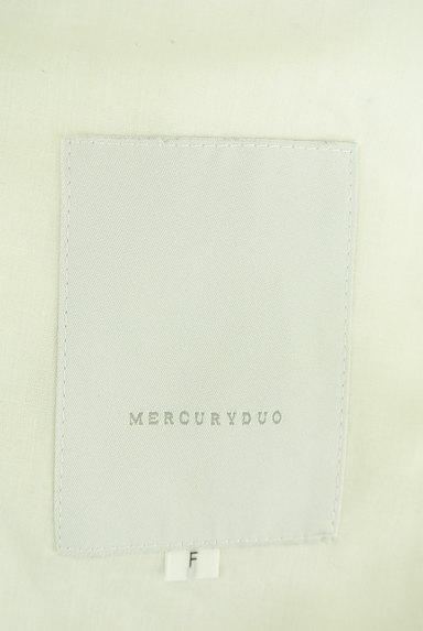 MERCURYDUO(マーキュリーデュオ)の古着「裏起毛フード付きロングコート(コート)」大画像6へ