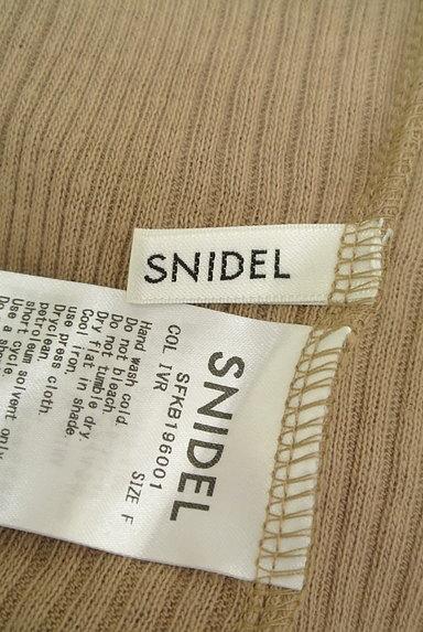 Snidel(スナイデル)の古着「ハイネックリブカットソー(ニット)」大画像6へ