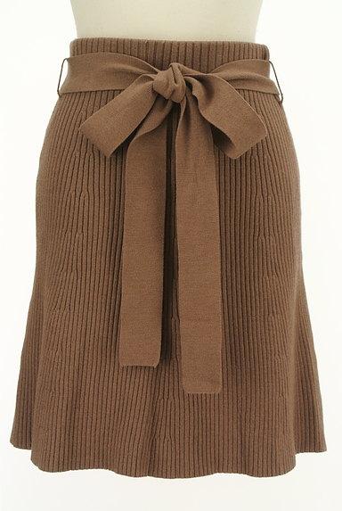 Snidel(スナイデル)の古着「セミマーメイドニットスカート(ミニスカート)」大画像1へ