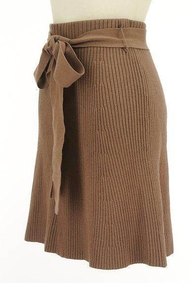 Snidel(スナイデル)の古着「セミマーメイドニットスカート(ミニスカート)」大画像3へ