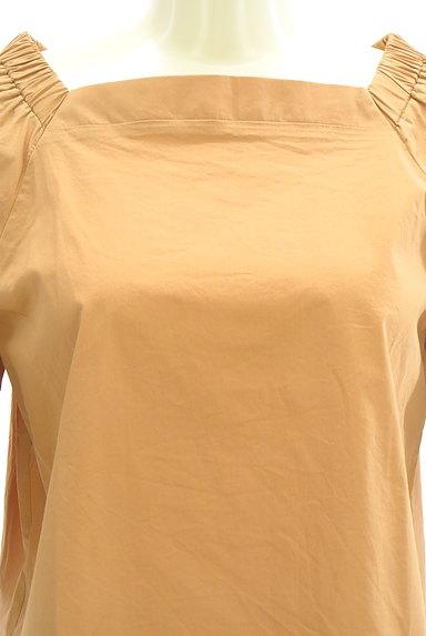 Te chichi(テチチ)の古着「スクエアネックフレア袖カットソー(カットソー・プルオーバー)」大画像4へ