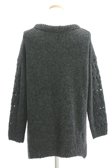 UNTITLED(アンタイトル)の古着「手編み風ケーブルニット(ニット)」大画像2へ