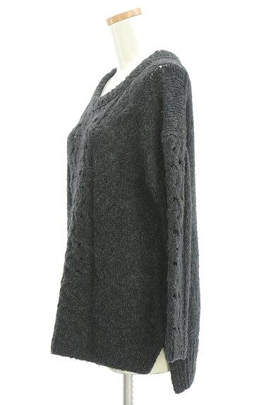 UNTITLED(アンタイトル)の古着「手編み風ケーブルニット(ニット)」大画像3へ
