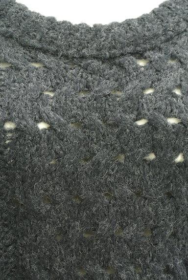 UNTITLED(アンタイトル)の古着「手編み風ケーブルニット(ニット)」大画像4へ