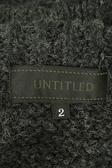 UNTITLED(アンタイトル)の古着「手編み風ケーブルニット(ニット)」大画像6へ