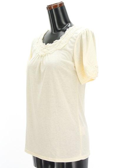 axes femme(アクシーズファム)の古着「刺繍レースカットソー(カットソー・プルオーバー)」大画像3へ