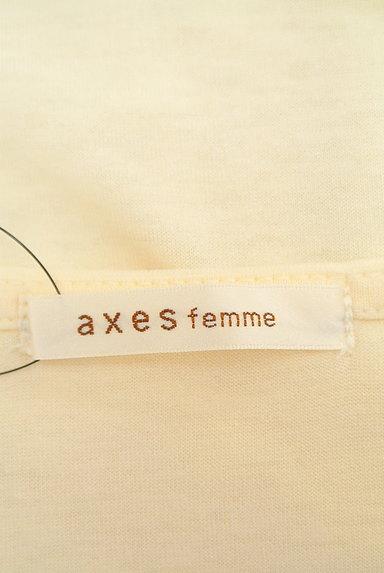 axes femme(アクシーズファム)の古着「刺繍レースカットソー(カットソー・プルオーバー)」大画像6へ