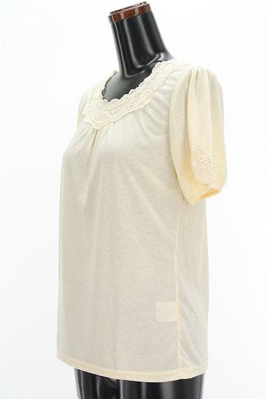 axes femme(アクシーズファム)の古着「装飾刺繍レースカットソー(カットソー・プルオーバー)」大画像3へ