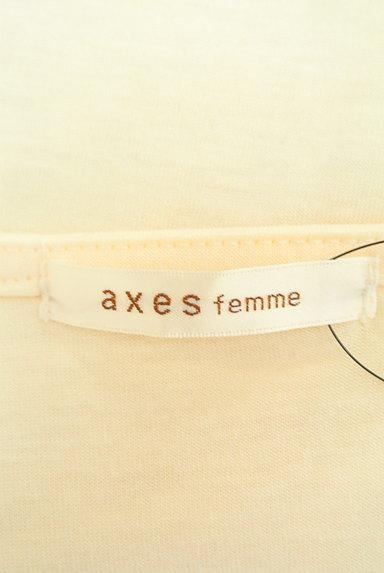 axes femme(アクシーズファム)の古着「装飾刺繍レースカットソー(カットソー・プルオーバー)」大画像6へ