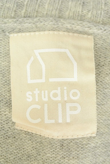 studio CLIP(スタディオクリップ)の古着「リブ襟ミドルカーディガン(カーディガン・ボレロ)」大画像6へ