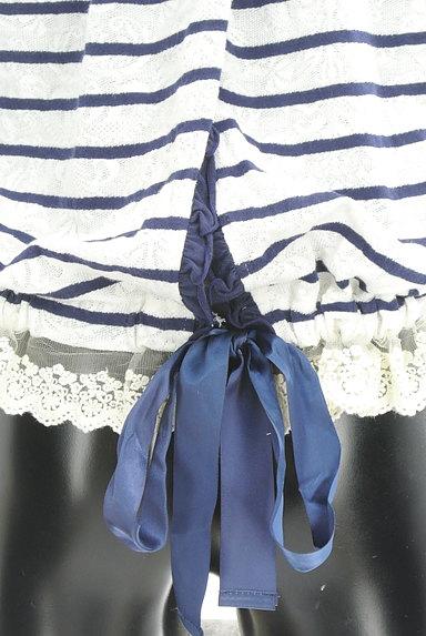 axes femme(アクシーズファム)の古着「バックリボンボーダーフーディ(カットソー・プルオーバー)」大画像5へ