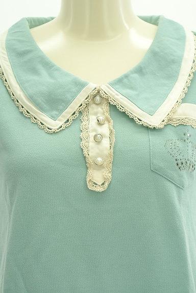 axes femme(アクシーズファム)の古着「レースフリルカットソー(カットソー・プルオーバー)」大画像4へ