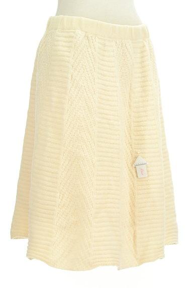 studio CLIP(スタディオクリップ)の古着「編み切替ニットスカート(スカート)」大画像4へ