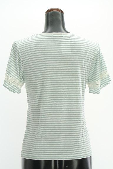 axes femme(アクシーズファム)の古着「レース切替Tシャツ(Tシャツ)」大画像2へ
