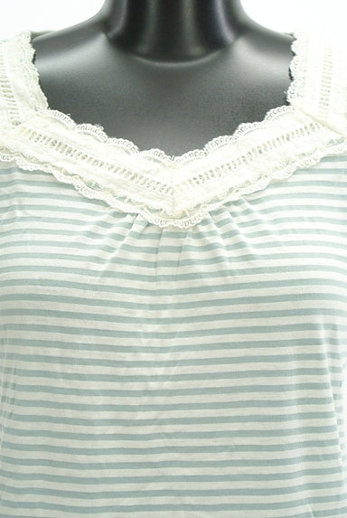 axes femme(アクシーズファム)の古着「レース切替Tシャツ(Tシャツ)」大画像4へ