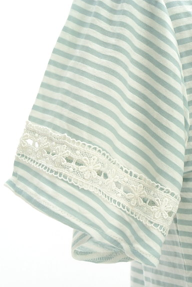 axes femme(アクシーズファム)の古着「レース切替Tシャツ(Tシャツ)」大画像5へ