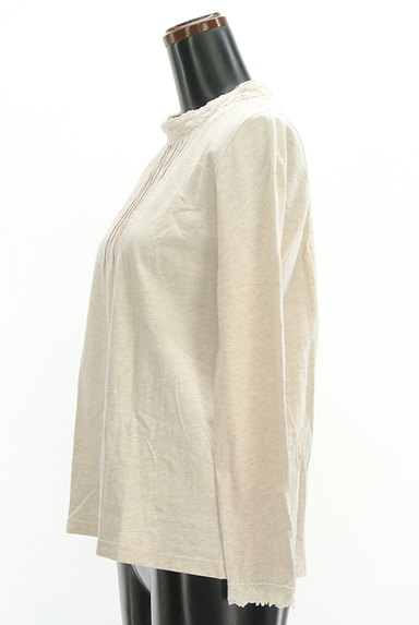 SM2(サマンサモスモス)の古着「ハイネックレースカットソー(カットソー・プルオーバー)」大画像3へ
