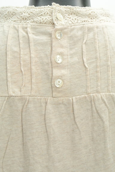 SM2(サマンサモスモス)の古着「ハイネックレースカットソー(カットソー・プルオーバー)」大画像4へ